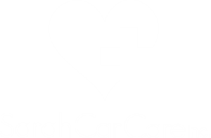 sarah car care white logo